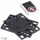"INDEPENDENT TRUCK Co. INDY Skateboard Riser Pads Hard Risers 1/8"" pair Black"